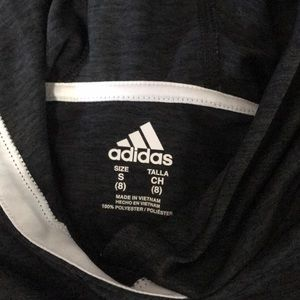adidas Shirts & Tops - Adidas hooded long sleeve tee
